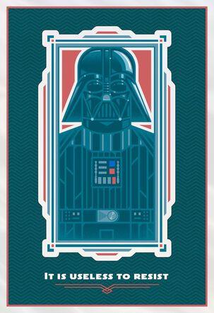 Star Wars™ Darth Vader™ Useless to Resist Birthday Card