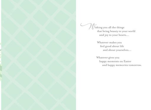 Happy Moments Easter Card for Sister and Brother-in-Law,