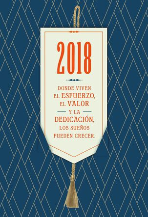 World Is Waiting Spanish-Language Graduation Card