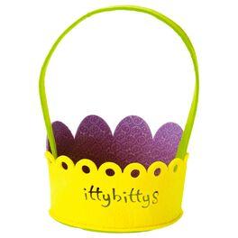 itty bittys® Felt Easter Basket, , large