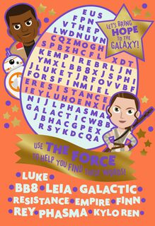 Star Wars™: The Force Awakens™ Kids Activities Easter Card,