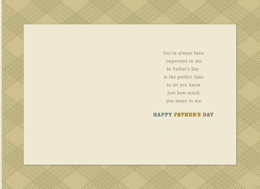 Block Type Lettering Father's Day Card for Uncle,