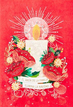El Amor de la Familia Spanish-Language Christmas Card
