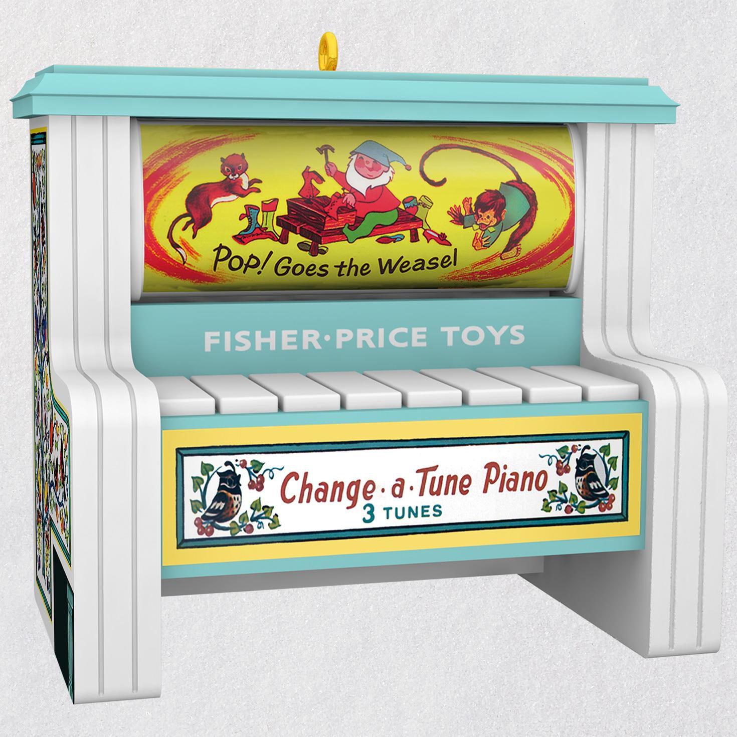 Fisher Change A Tune Piano Al Ornament Keepsake Ornaments Hallmark