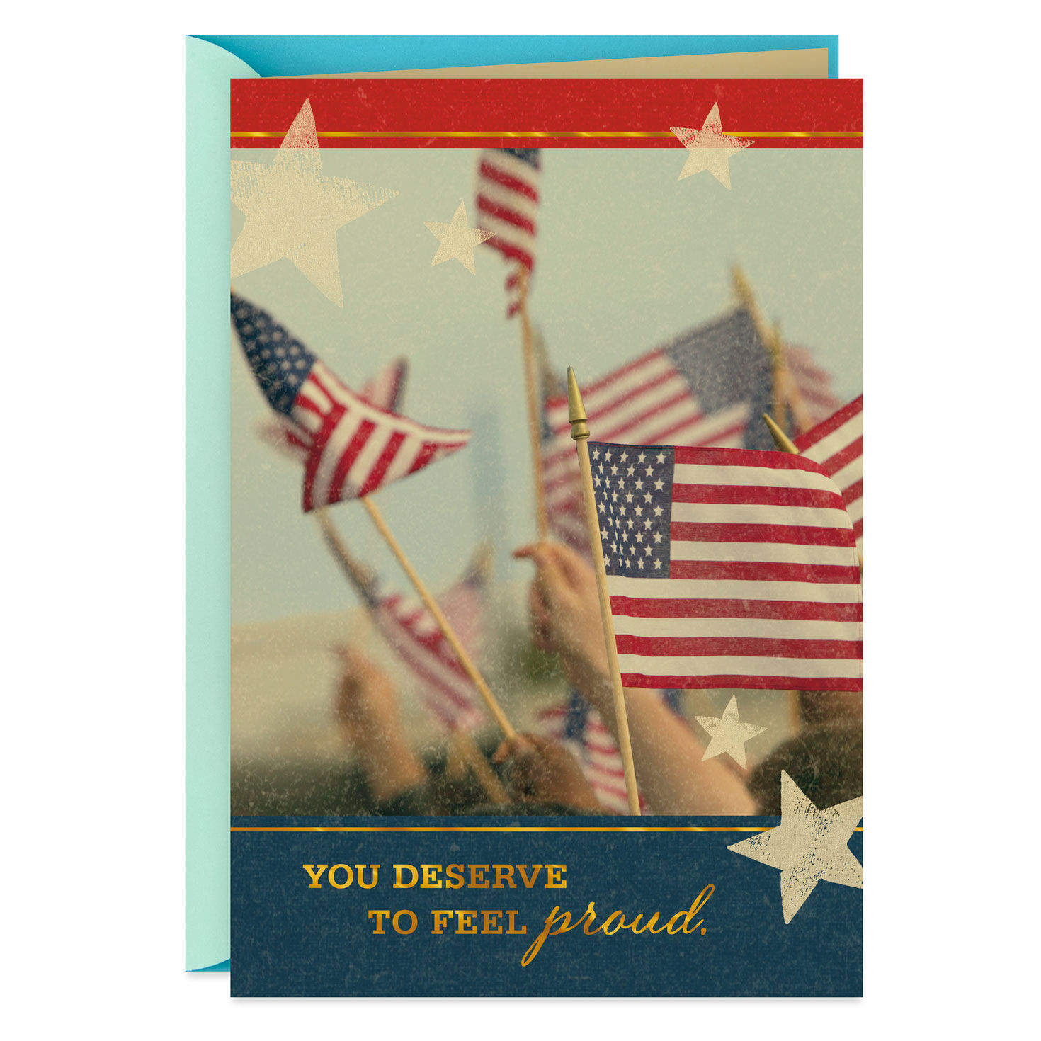 photo relating to Free Printable Military Greeting Cards called Armed service Appreciation Playing cards Hallmark