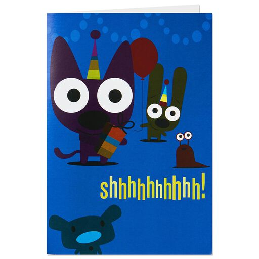 HoopsyoyoTM Surprise Party Birthday Card With Lights And Sound