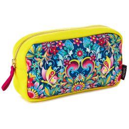 Catalina Estrada Blue Rose Cosmetic Bag, , large