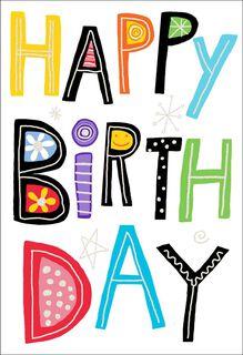 Happy Birthday to You Birthday Card,