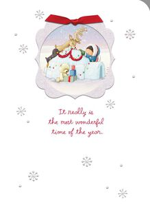 Most Wonderful Time of the Year Christmas Card,