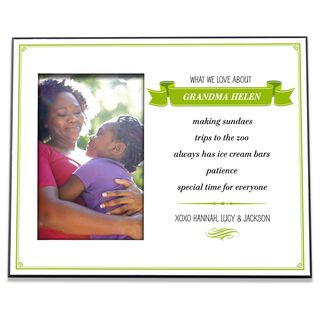 What We Love About Personalized 4x6 Picture Frame,