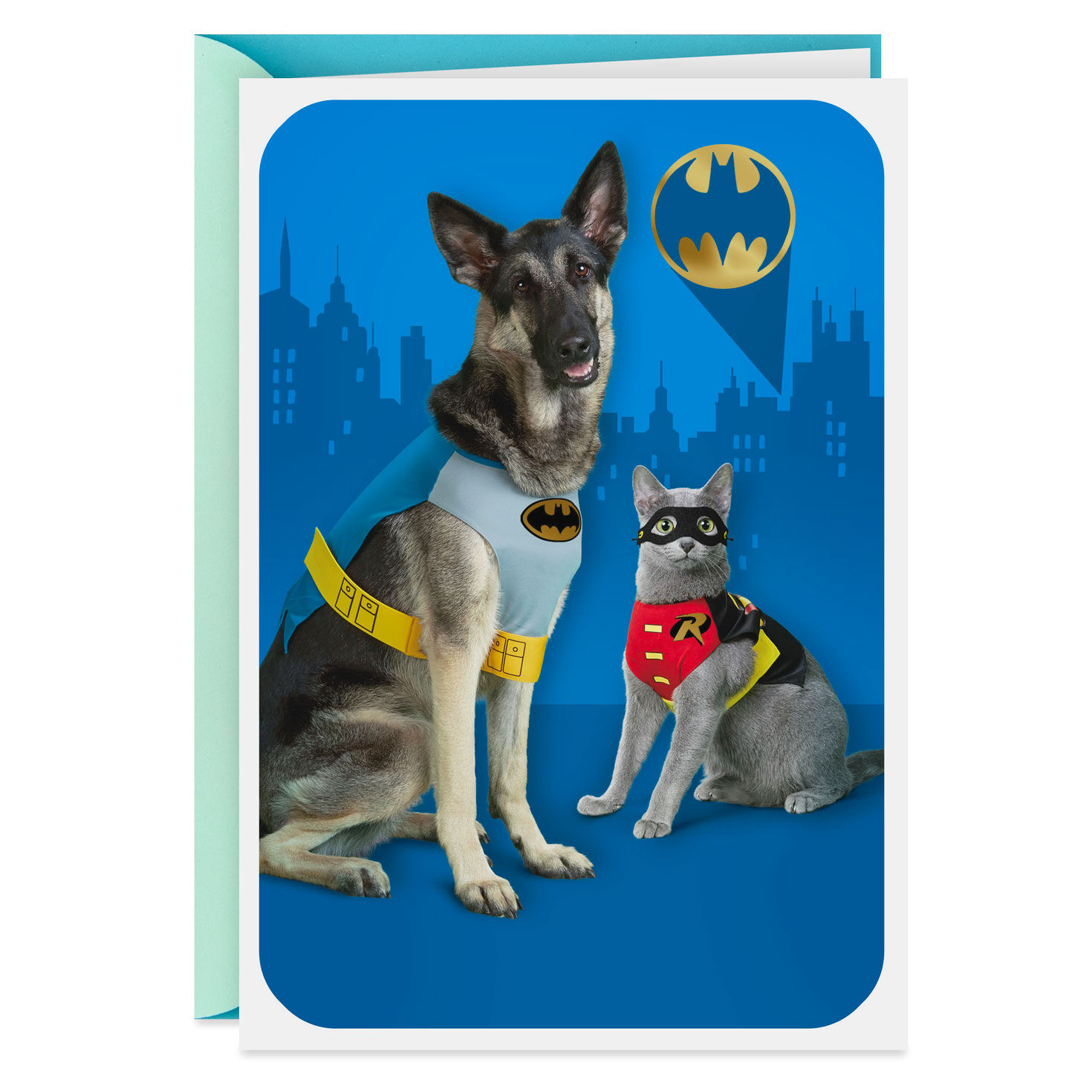 """photograph relating to Dog Birthday Cards Printable Free known as Batmanâ""""¢ Organized for Stage Pop Up Birthday Card - Greeting"""