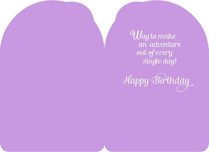 bb39f157e06 Frozen Queen Elsa You're Amazing Birthday Card,