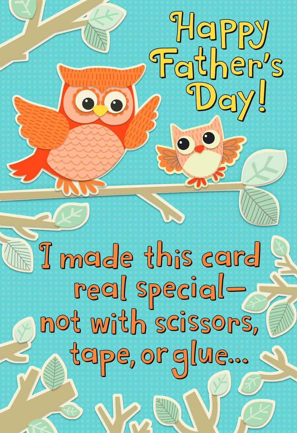 Owl To Owl Recordable Fathers Day Card Greeting Cards Hallmark