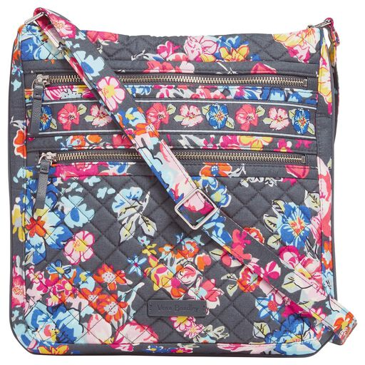 af06f2ce721e Vera Bradley Iconic Triple Zip Hipster in Pretty Posies