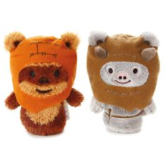 Itty Bittys Star Wars Ewok Buddies Set With Wicket And