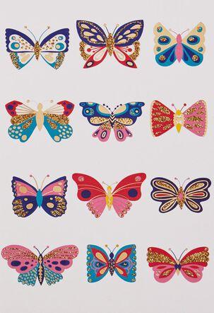 A Dozen Butterflies Blank Card