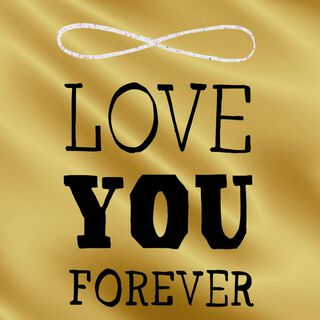 Love You Forever Anniversary Card,