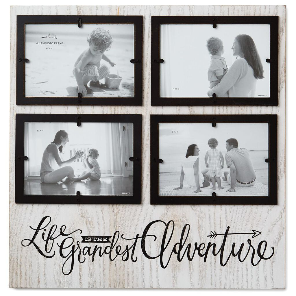 Life Is The Grandest Adventure 4 Opening Picture Frame 4x6