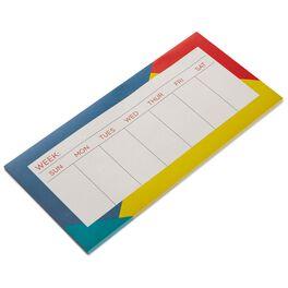 Modern Shapes Calendar Planner Notepad, 60 Sheets, , large