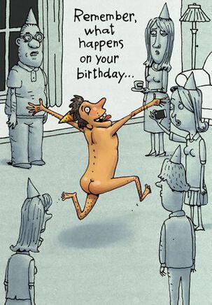Incriminating Facebook Photos Funny Birthday Card