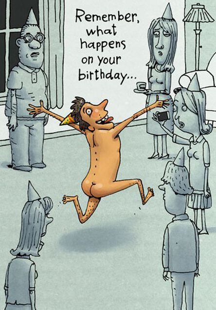 Incriminating Facebook Photos Funny Birthday Card Greeting Cards
