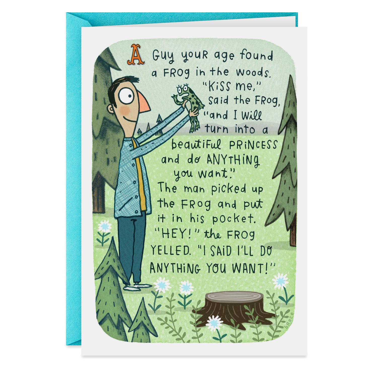 Birthday Boy Funny Humour Birthday Card LIP ~ FREE POSTAGE UK