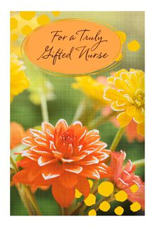 Truly Gifted Nurses Day Card,