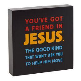 Friend in Jesus Sentiment Print, , large