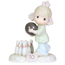 Precious Moments® Growing in Grace Blonde Hair Girl Figurine, Age 10, , large