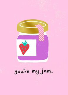 You're My Jam Valentine's Day Card,