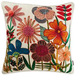 Flowers Pillow, , large