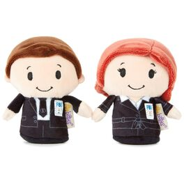 itty bittys® The X-Files™ Mulder and Scully Stuffed Animals, Set of 2, , large