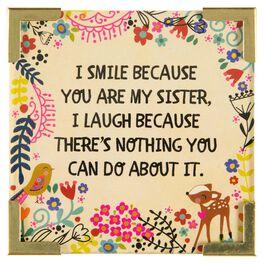 Natural Life Corner Magnet Sister Smile, , large