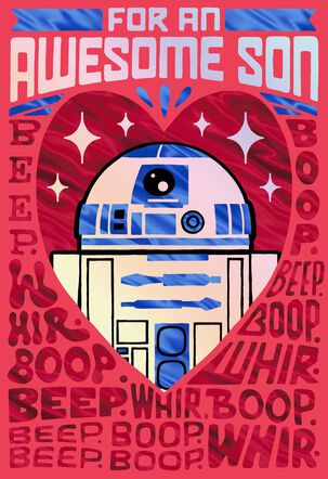 Star Wars™ R2-D2™ Awesome Son Valentine's Day Card