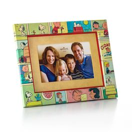 Peanuts® Comic-Wrapped Picture Frame, 4x6, , large