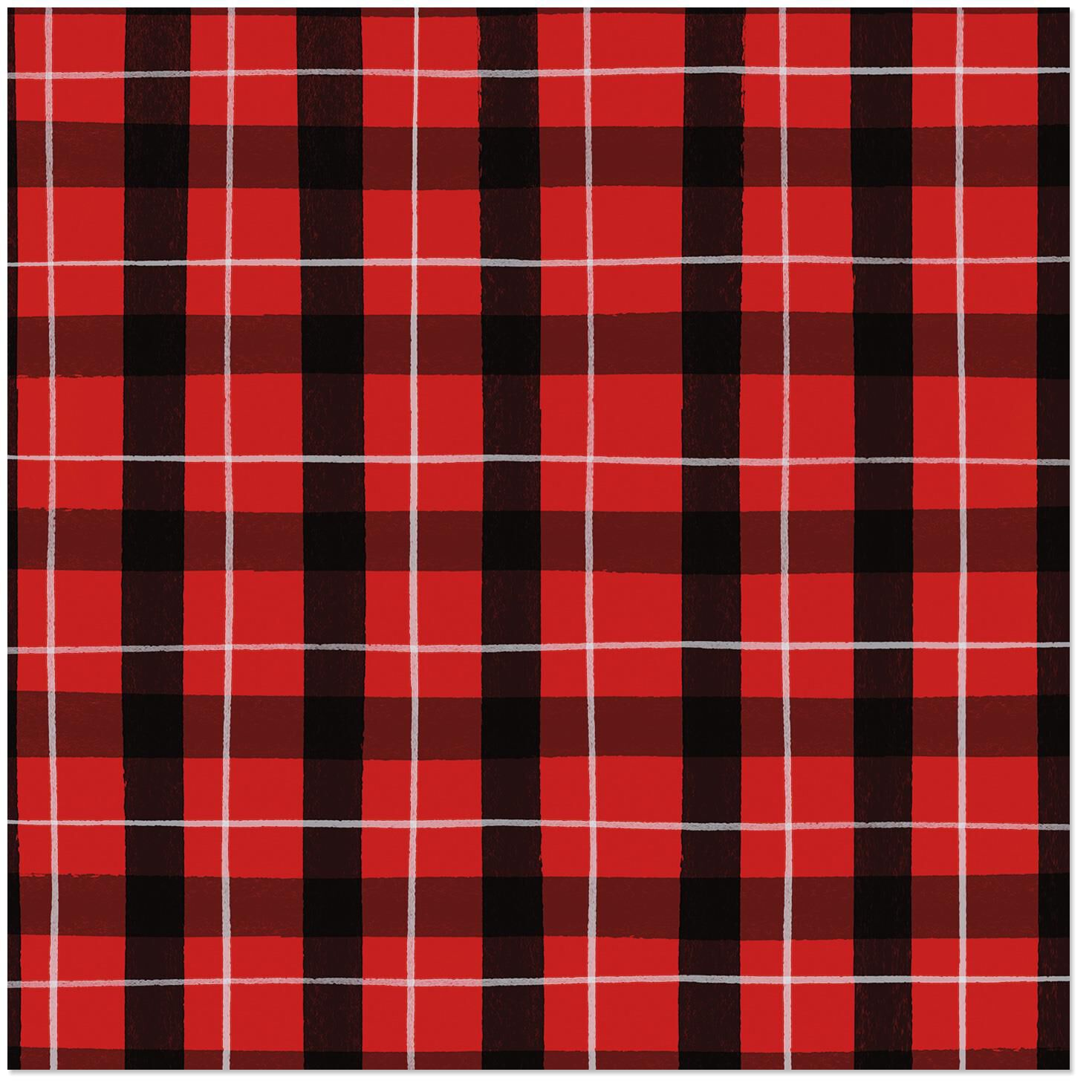 watercolor red plaid christmas wrapping paper roll, 45 sq ftwatercolor red plaid christmas wrapping paper roll, 45 sq ft wrapping paper hallmark