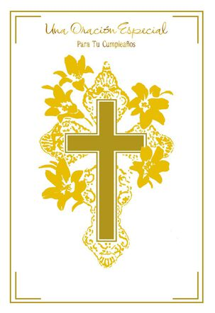 Cross Special Prayer Spanish-Language Birthday Card