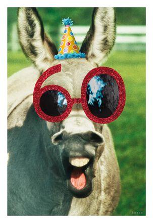 60 Looks Good Birthday Card