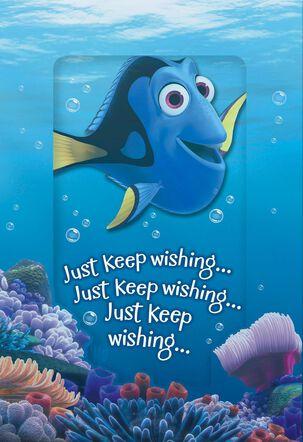Just Keep Wishing Pop-Up Kids Birthday Card