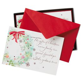 Holiday Gifts Christmas Cards, Box of 16, , large