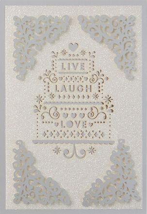 All Your Heart Can Hold Wedding Card