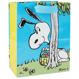 """Peanuts® Snoopy With Eggs Medium Gift Bag, 9.5"""", , large"""