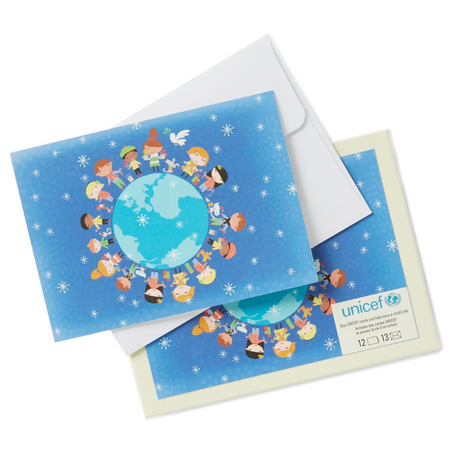 UNICEF Children Around the World Holiday Note Cards, Box of 12 ...