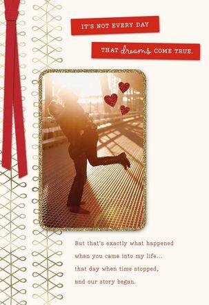 Dreams Come True Valentine's Day Card