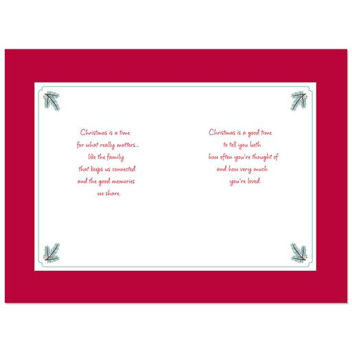Youre Loved Christmas Card For Sister And Brother In Law
