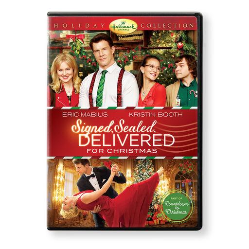Signed, Sealed, Delivered for Christmas Hallmark Channel DVD,