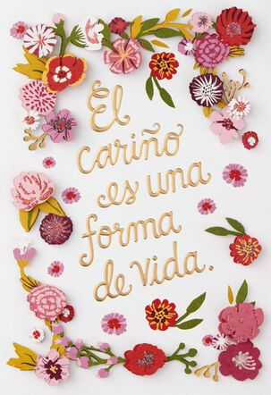Your Loving Affection Spanish-Language Mother's Day Card