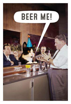 Beer Me, I'm 21! Birthday Card