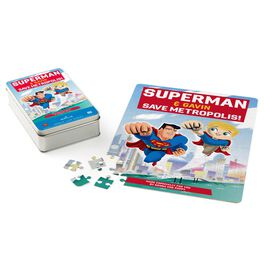 SUPERMAN™ Personalized Puzzle and Tin, , large