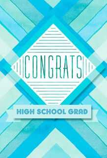 Congrats High School Grad, Pack of 6,